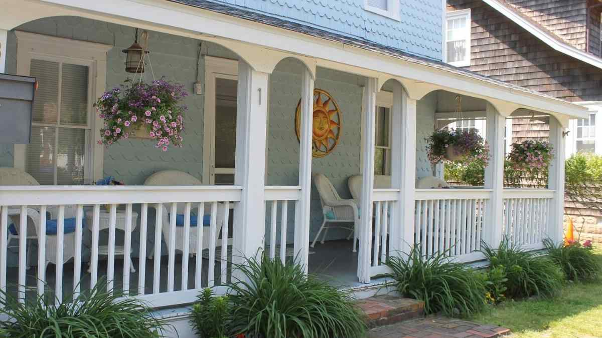 airbnb rehoboth beach porch driftwood cottage
