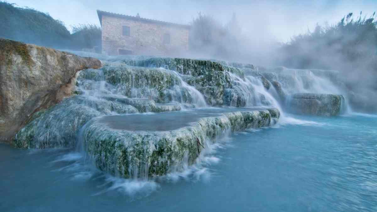 thermal spas in europe saturnia italy