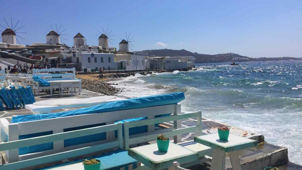 gay travel Mykonos little venice