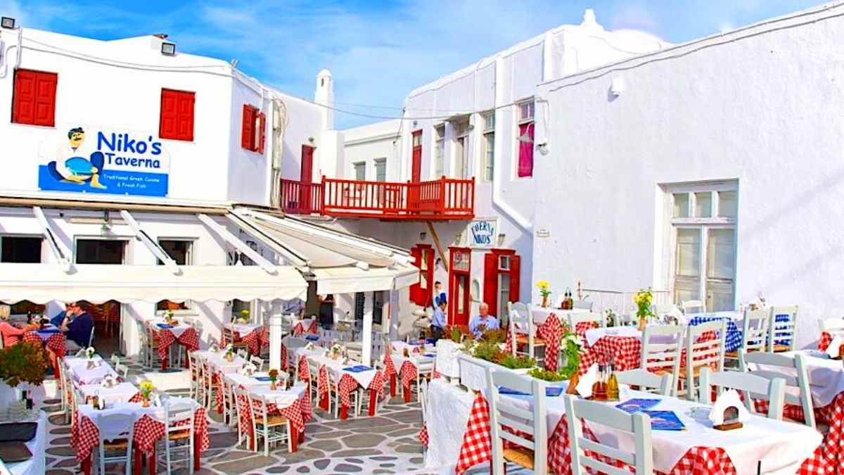 restaurants Mykonos
