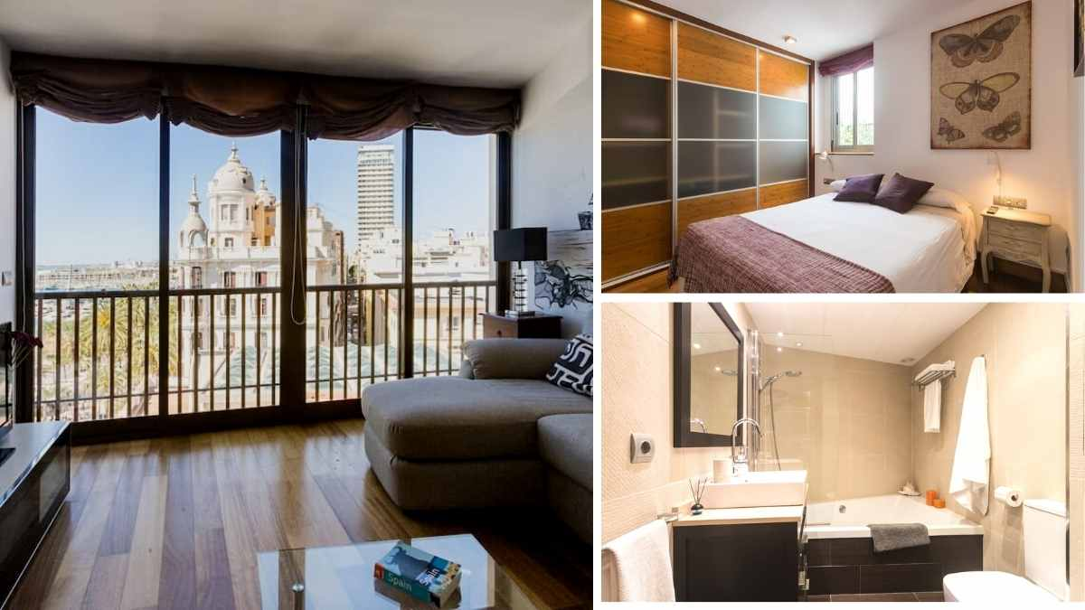 penthouse airbnb alicante